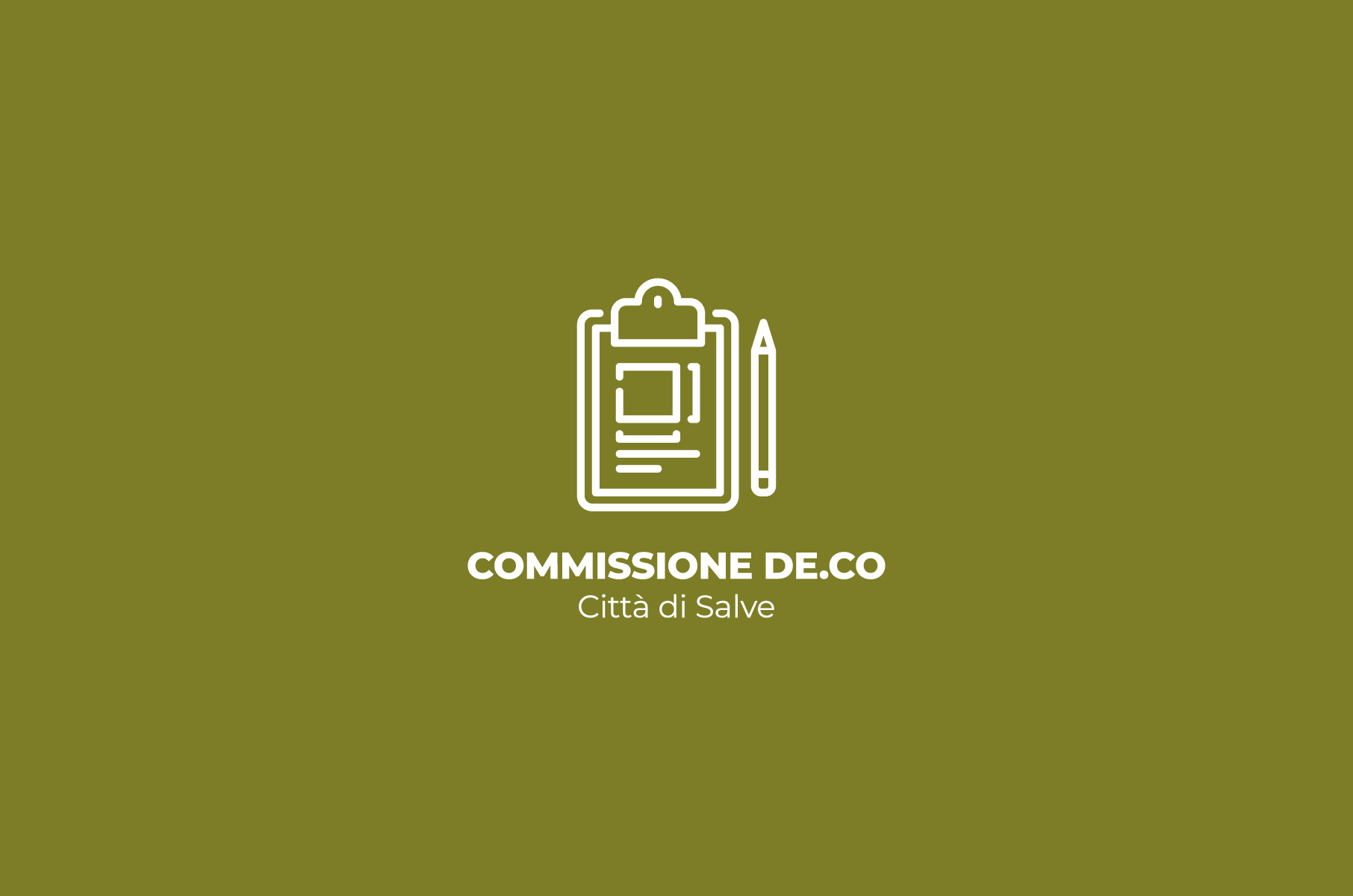 Commissione De.Co Comune di Salve