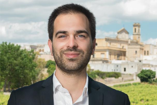 Matteo Pepe consigliere di maggioranza Comune di Salve