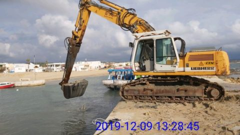 Rimozione dell'ostruzione canale