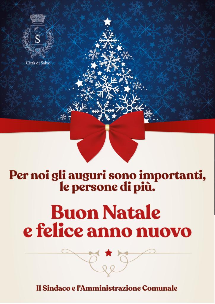 Buon Natale e felice anno nuovo Comune di Salve