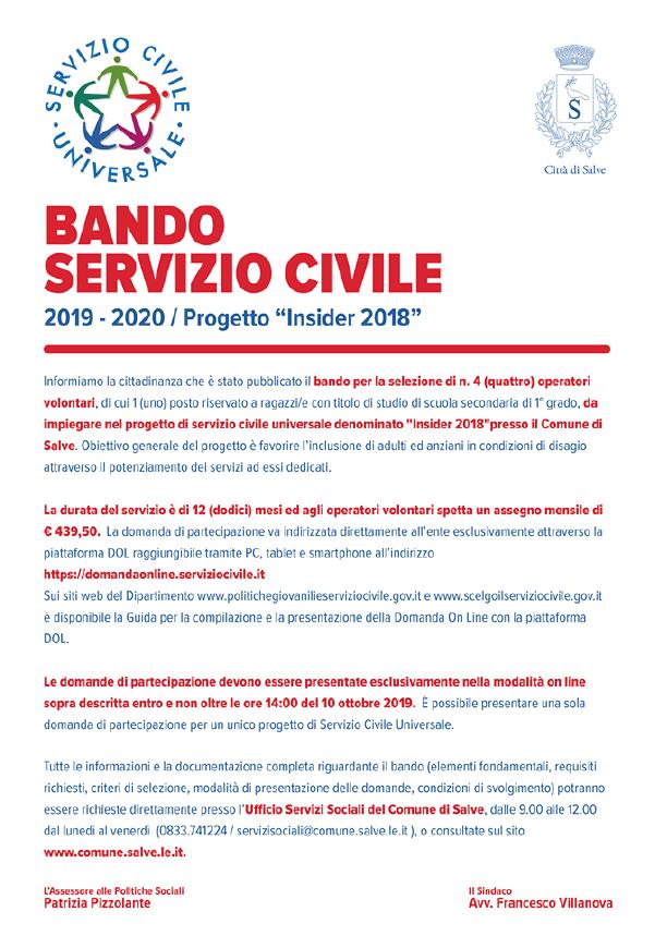 Servizio Civile Comune di Salve
