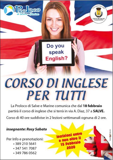 Corso d'inglese per tutti
