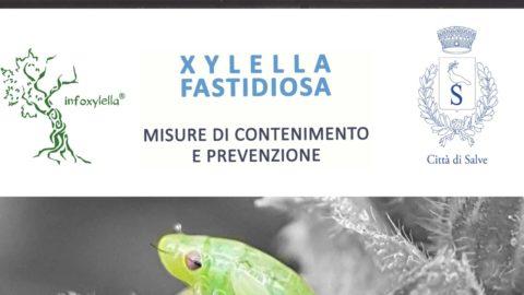 XYLELLA – MISURE FITOSANITARIE OBBLIGATORIE – MESE DI APRILE