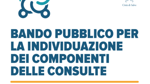 BANDO PUBBLICO PER LA INDIVIDUAZIONE DEI COMPONENTI  DELLE CONSULTE. RIAPERTURA TERMINI
