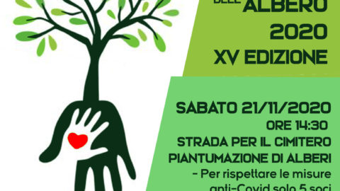FESTA DELL'ALBERO 2020 – XV EDIZIONE