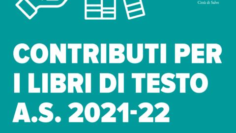 Contributi per i libri di testo A.S. 2021-22