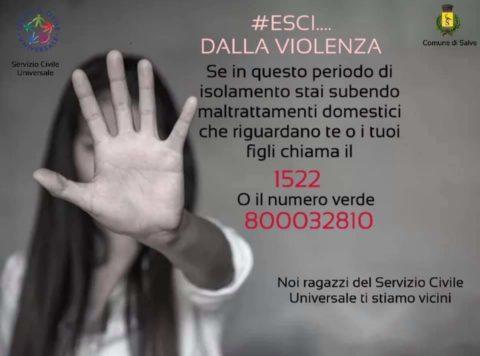 #ESCI DALLA VIOLENZA